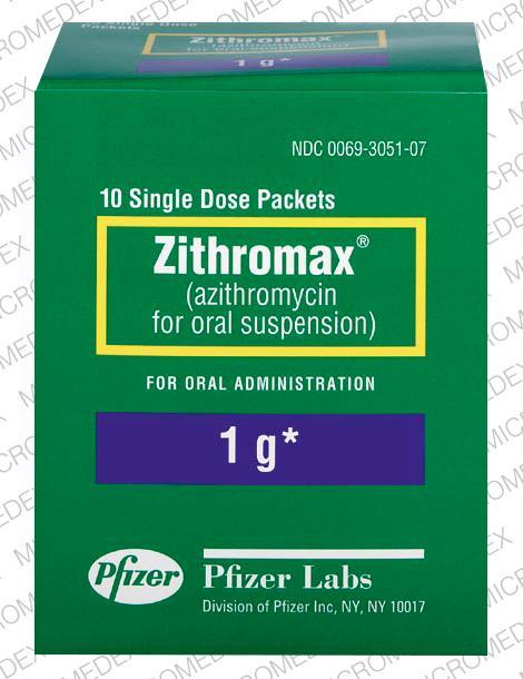 1000 Single Dose Zithromax