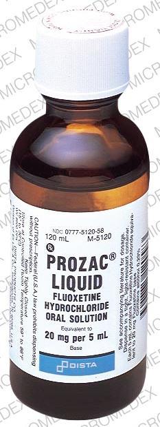 Dosages Prozac
