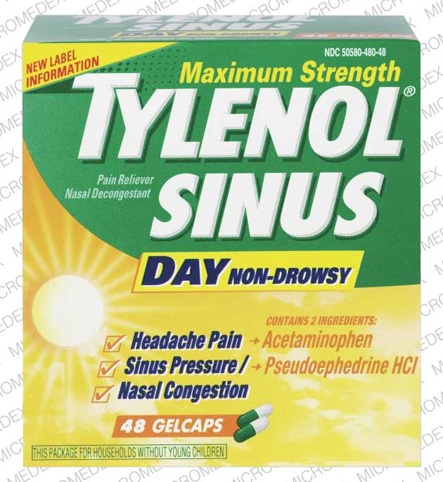 Tylenol Sinus Maximum Strength