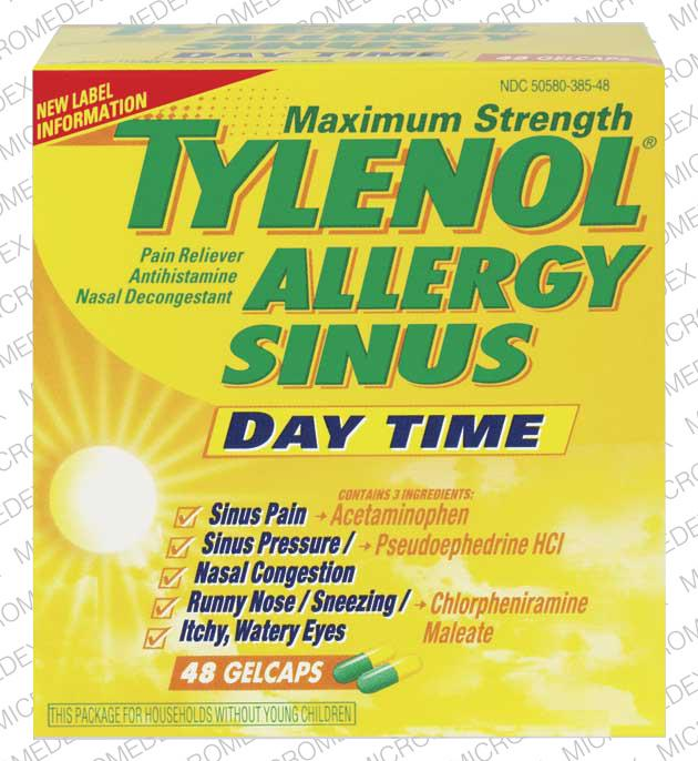 Tylenol Allergy Sinus