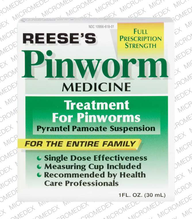 Reese's pinworm medicine