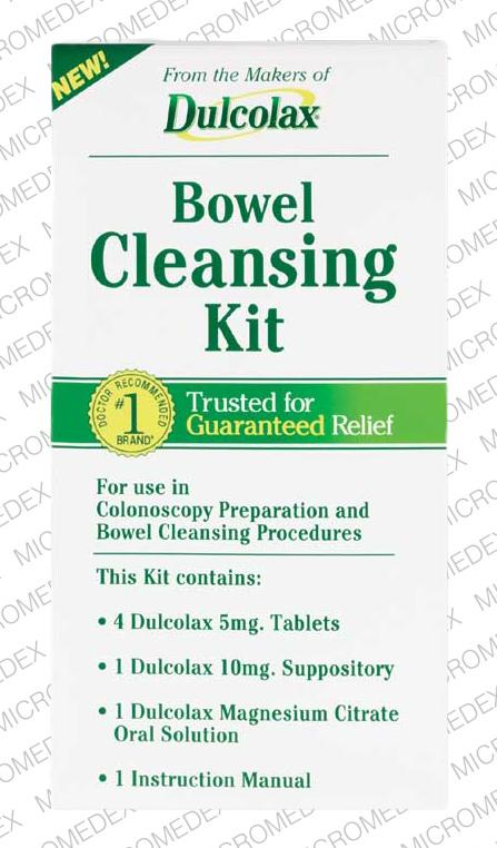 Dulcolax Bowel Cleansing Kit