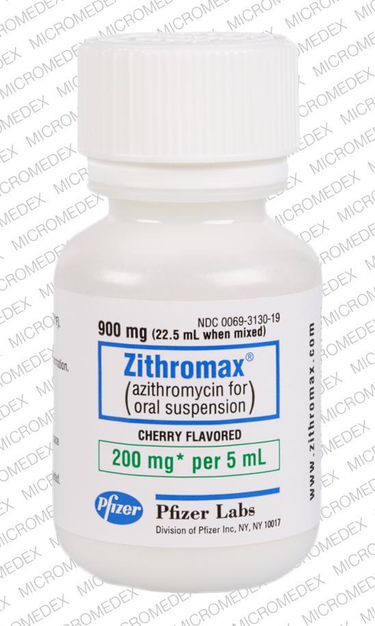 Azithromycin 500 mg pfizer news